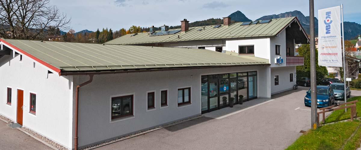 MBCOM IT-Systemhaus - Business Kompetenz Zentrum Süd-Ost-Oberbayern Außenansicht