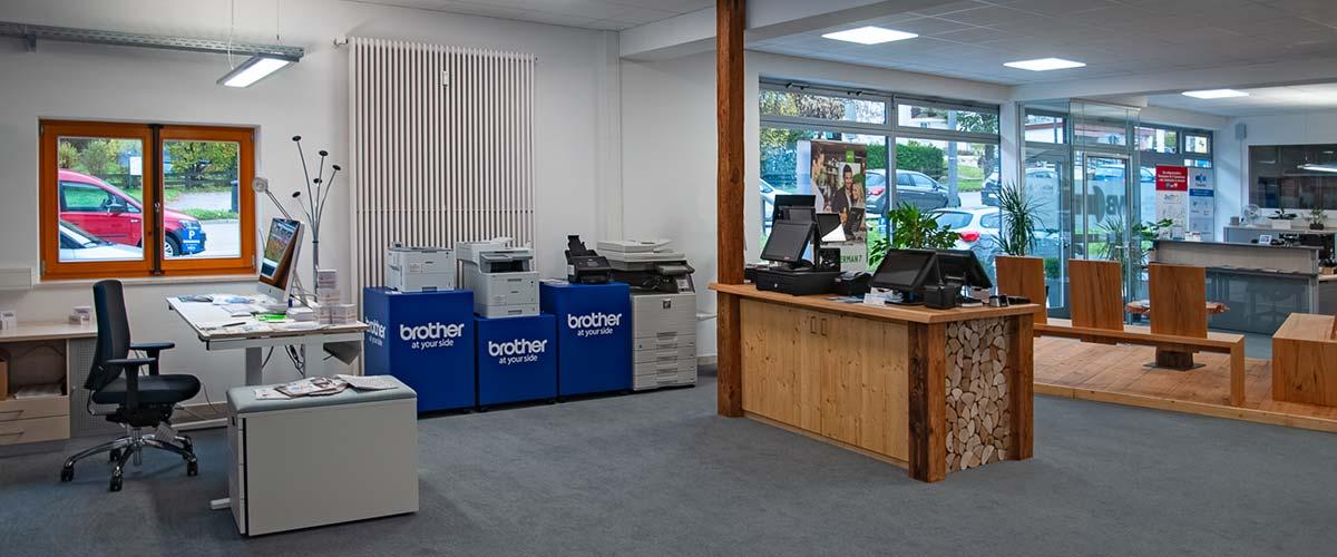 MBCOM IT-Systemhaus Business Kompetenz Zentrum Süd-Ost-Oberbayern Innenansicht
