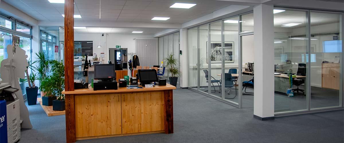 MBCOM IT-Systemhaus Büro Innenansicht