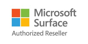 Microsoft Surface Authorized Reseller Logo