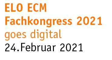 Einladung ELO ECM Fachkongress 2021
